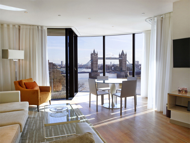 London Apartment with Views