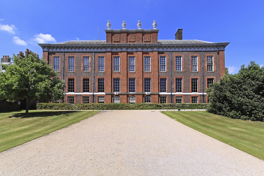 Kensington Palace official residence of Princess Diana in London
