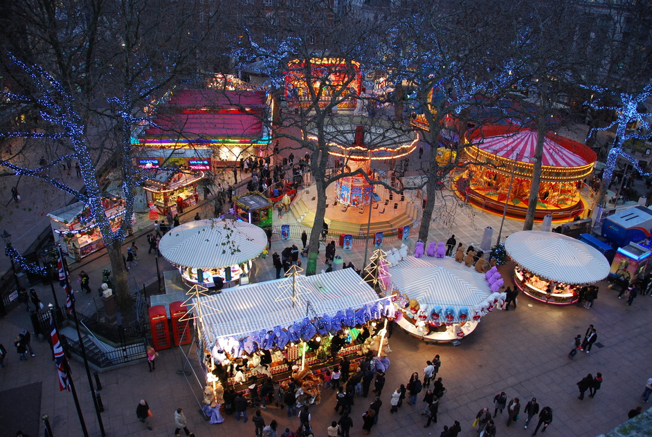 Christmas in Leicester Square Market