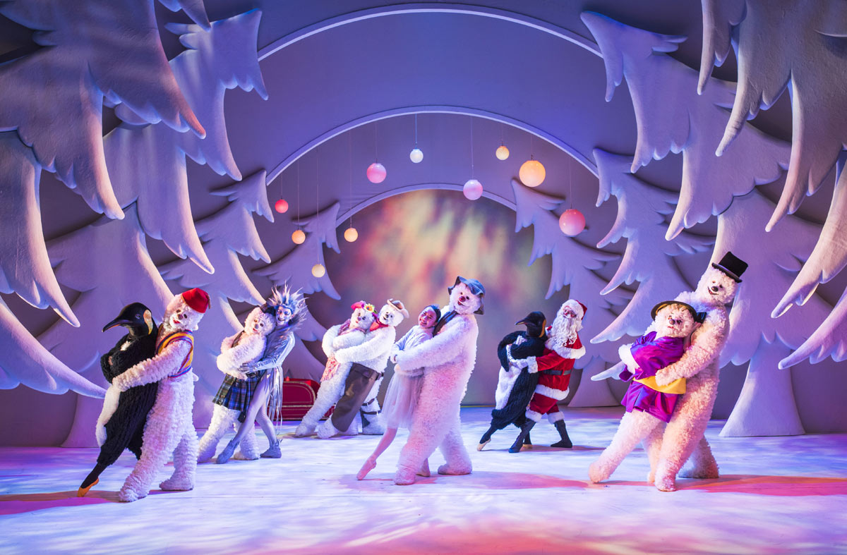 The Snowman show at Peacock theatre