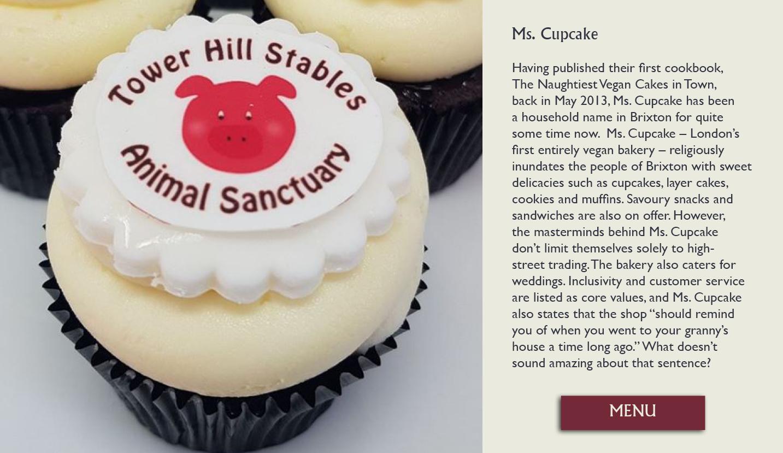 Ms. Cupcake cake
