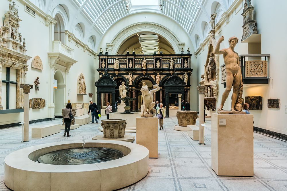 Victoria and Albert Museum Interior