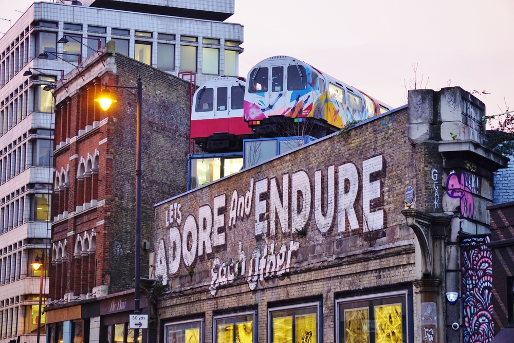 Shoreditch, east London.