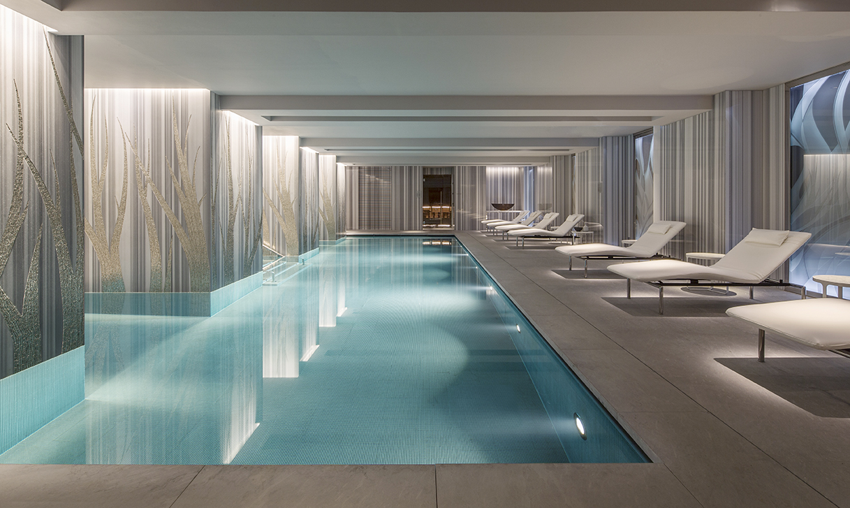 Swimming pool at Four Seasons Residences – Ten Trinity Square