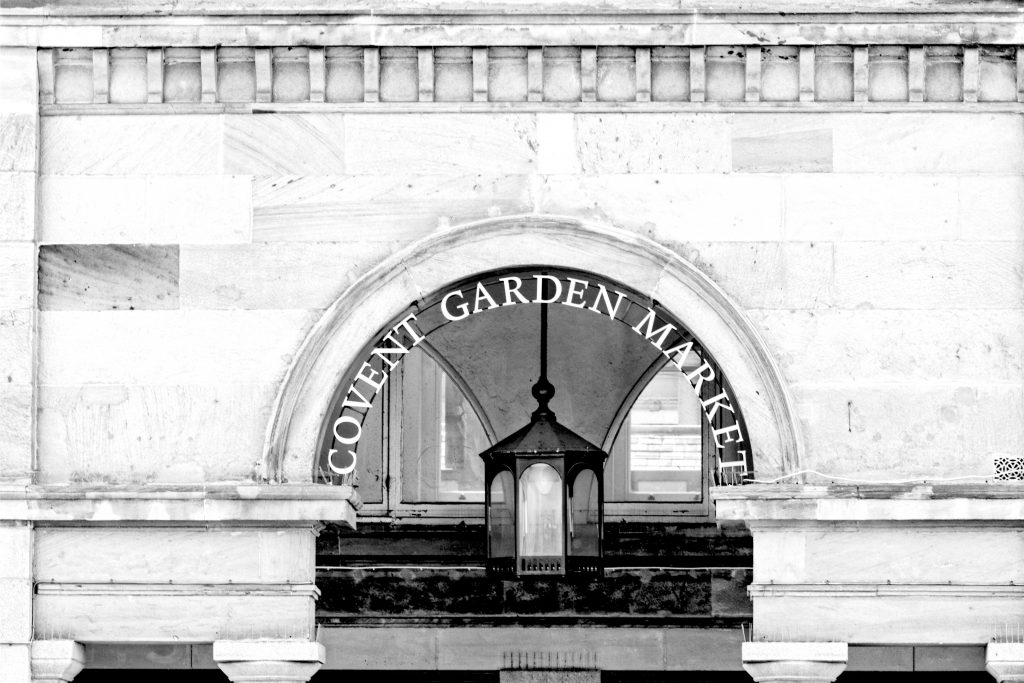 The Famous Covent Garden Market Arches