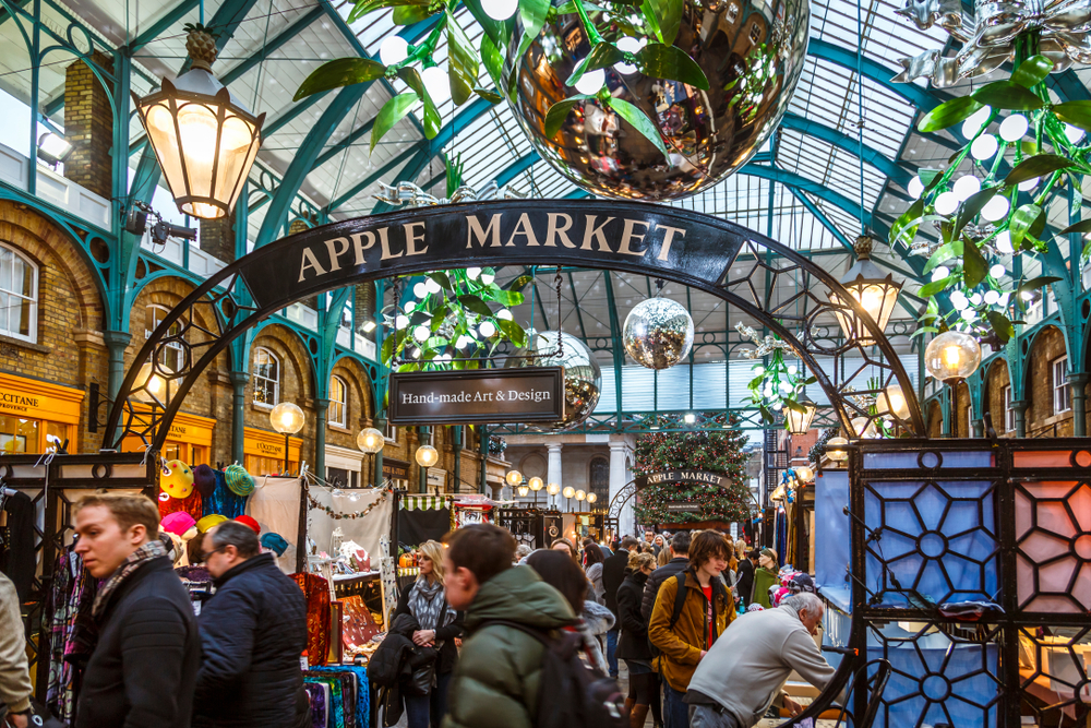 Apple Market at the Covent Garden Piazza