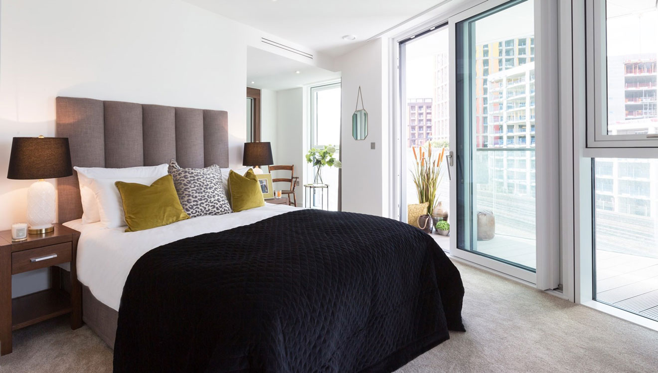 The Nine Elms Apartments in central London offers luxury serviced accommodation.