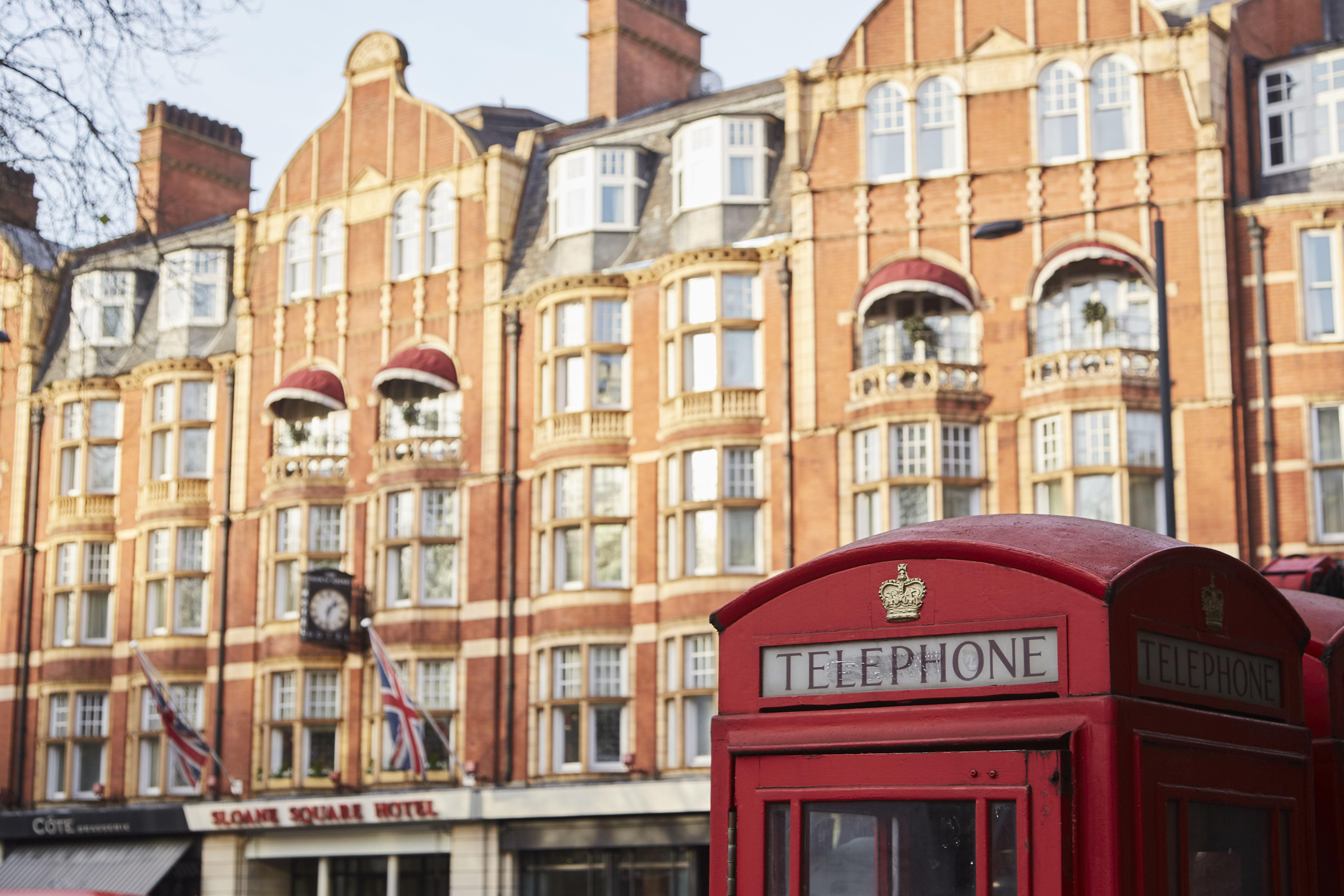 Luxury shopping at Sloane Square
