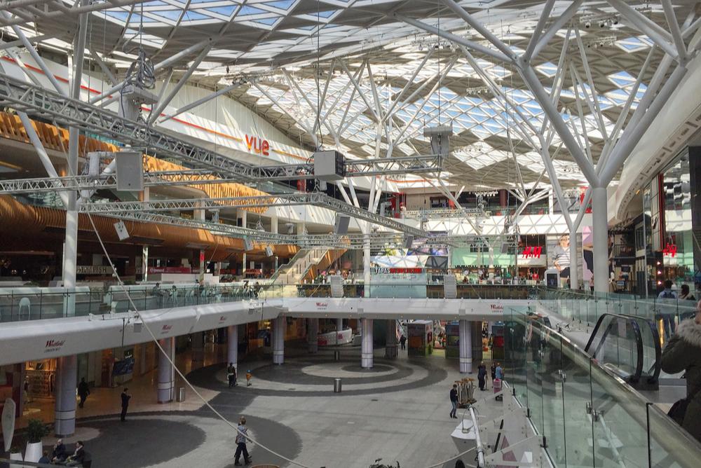 Westfield London luxury shopping