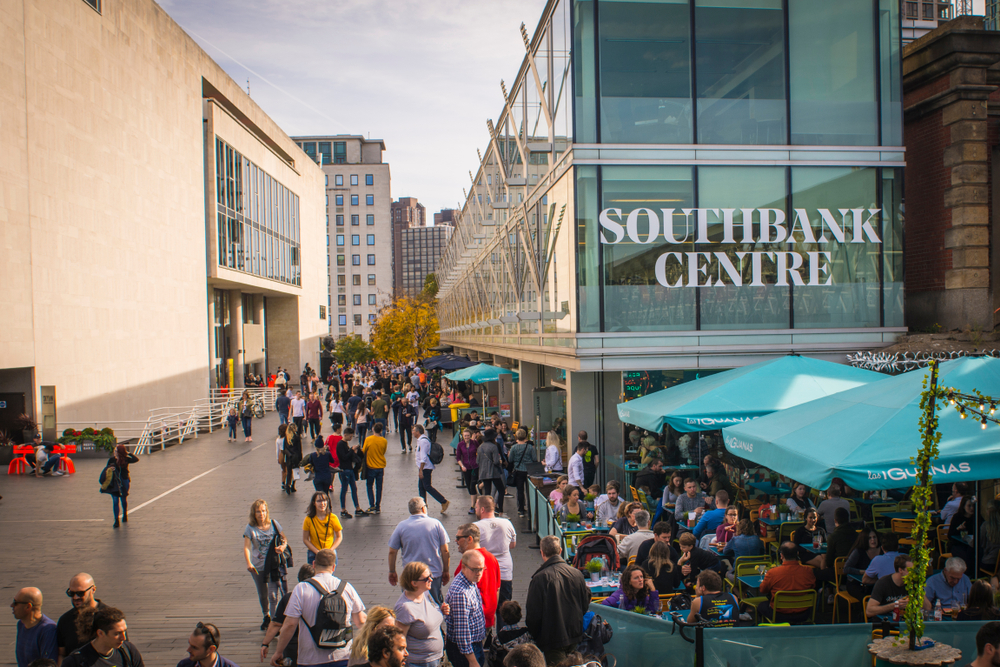 London's Southbank Centre is the city's cultural heartland