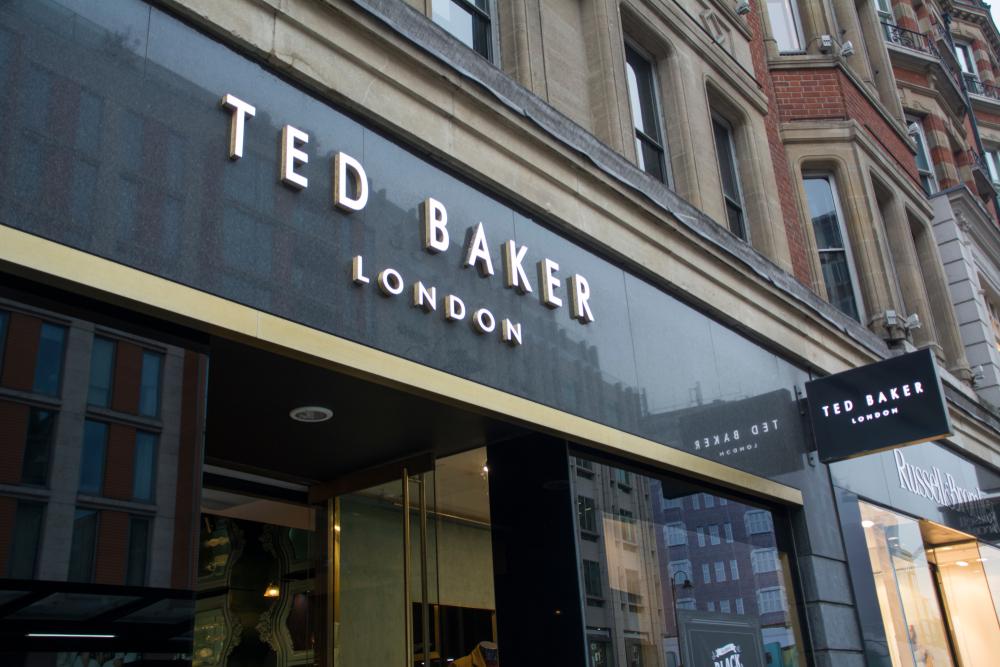 Ted Baker store in Knightsbridge, London