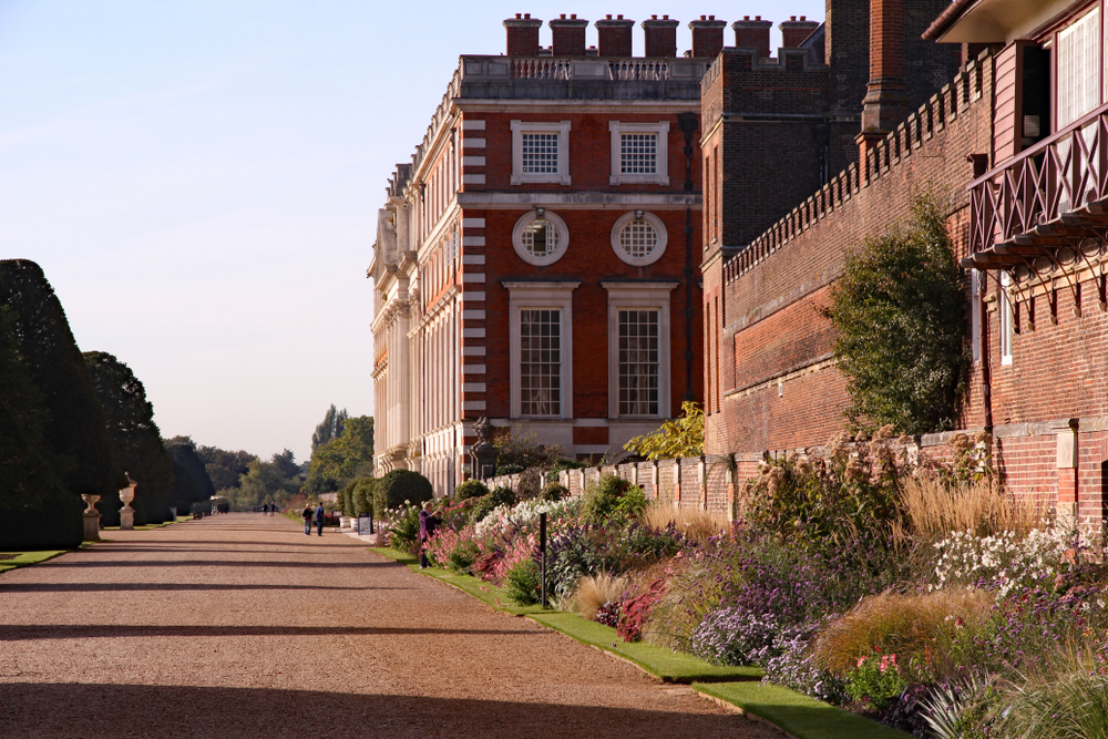 Hampton Court Palace in London