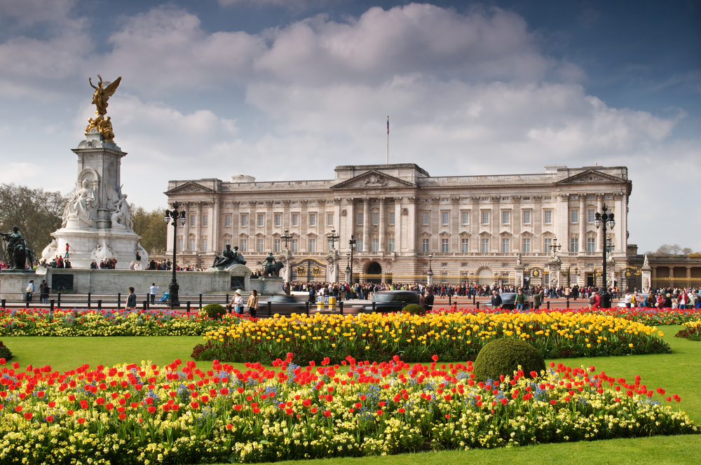 Buckingham Palace is London's most iconic landmark