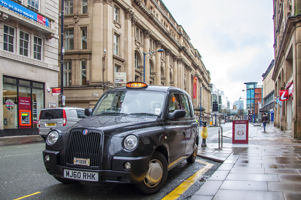 London black cabs - the perfect way to get around.