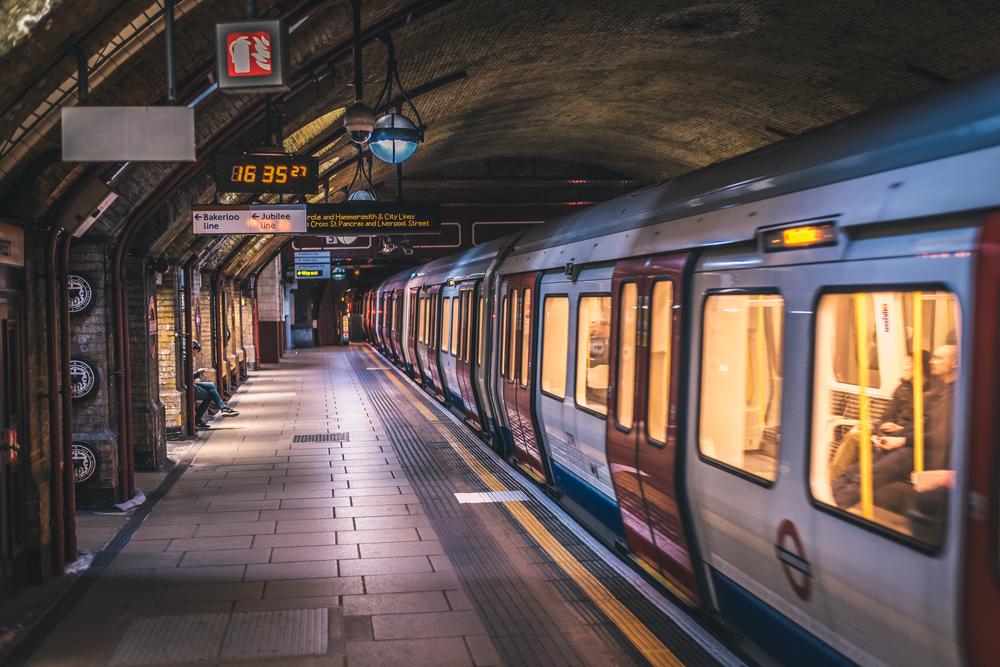 Baker Street in London on the London Underground