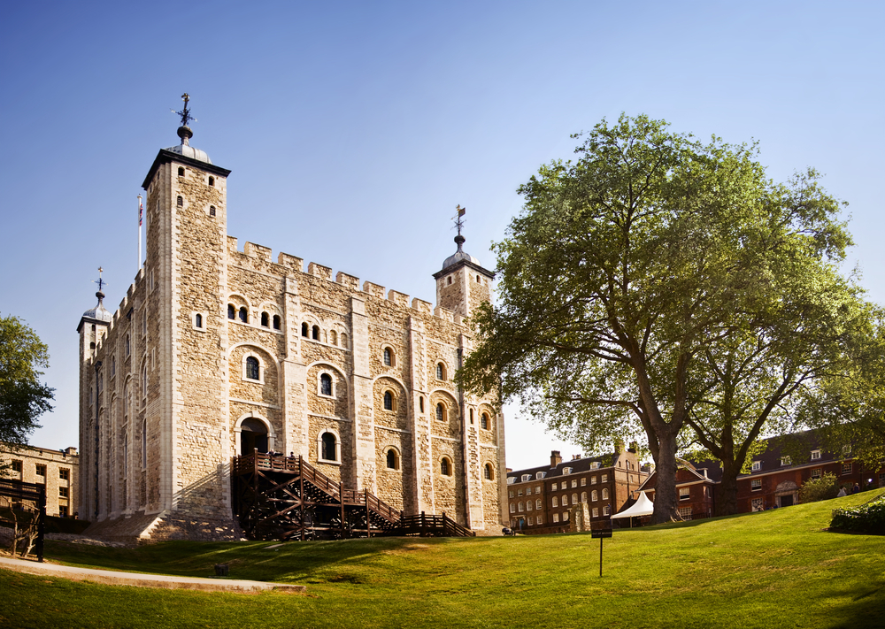 The Tower of London is an imperious riverside fortress