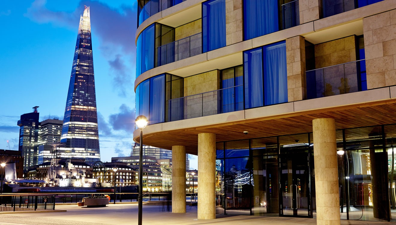 Cheval Three Quays overlooking the Shard