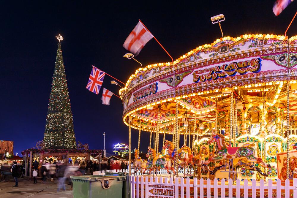 Winter Wonderland in Christmas Hyde Park