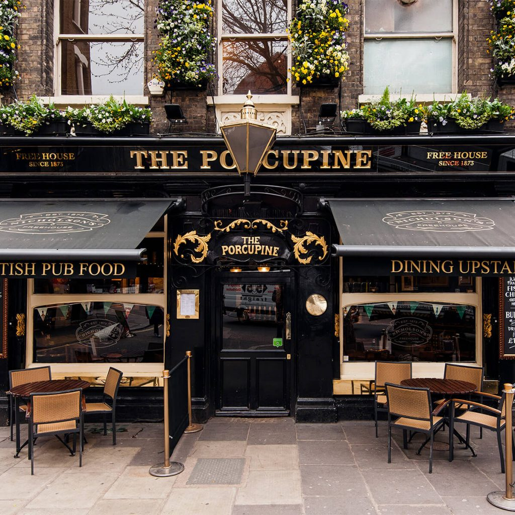 The Porcupine pub, Covent Garden