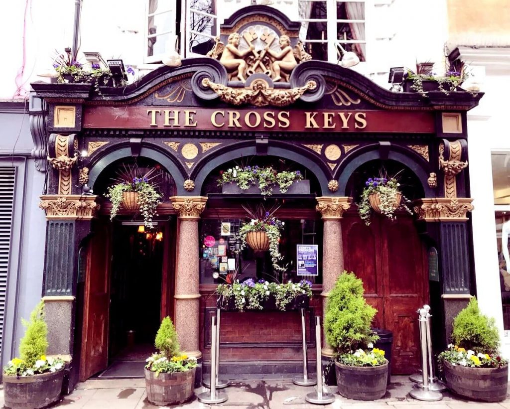 The Cross Keys pub enter, Covent Garden