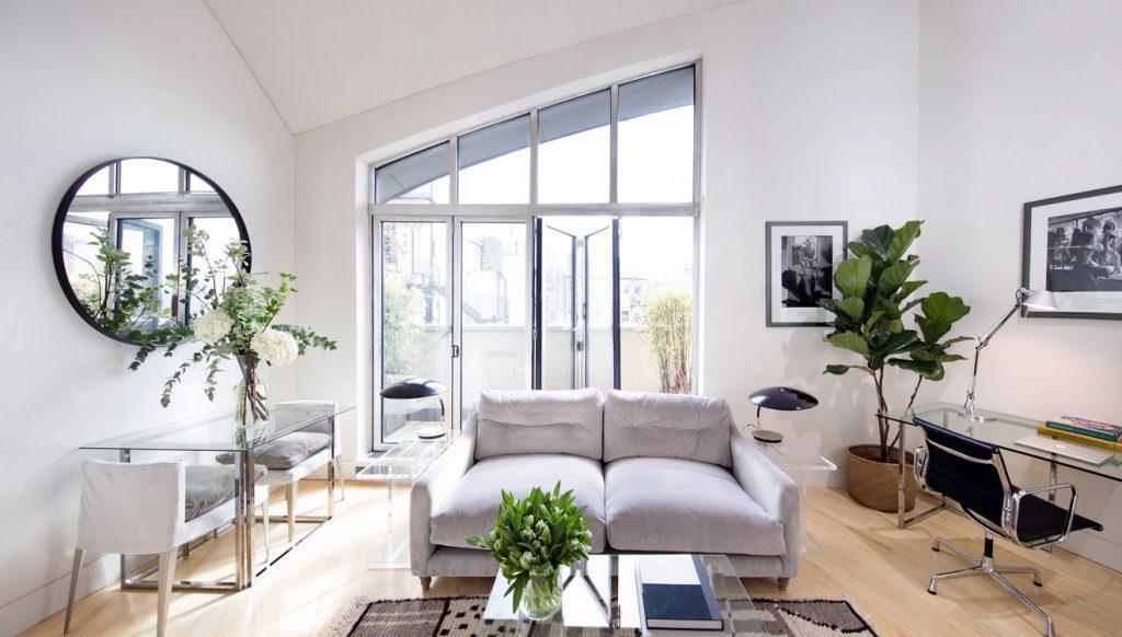 No.5 Maddox Street Apartments living area