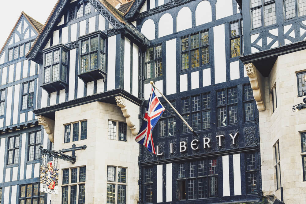 Liberty department store London