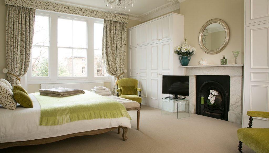 Beautiful bedroom at 20 The Barons