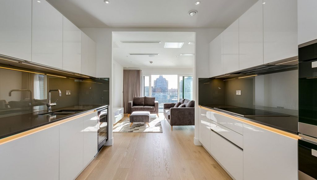 Contemporary apartment at MyLo Fulham River Side