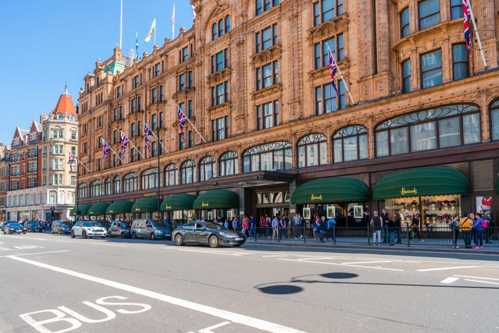 Harrods could be a great option for Mother's Day in London