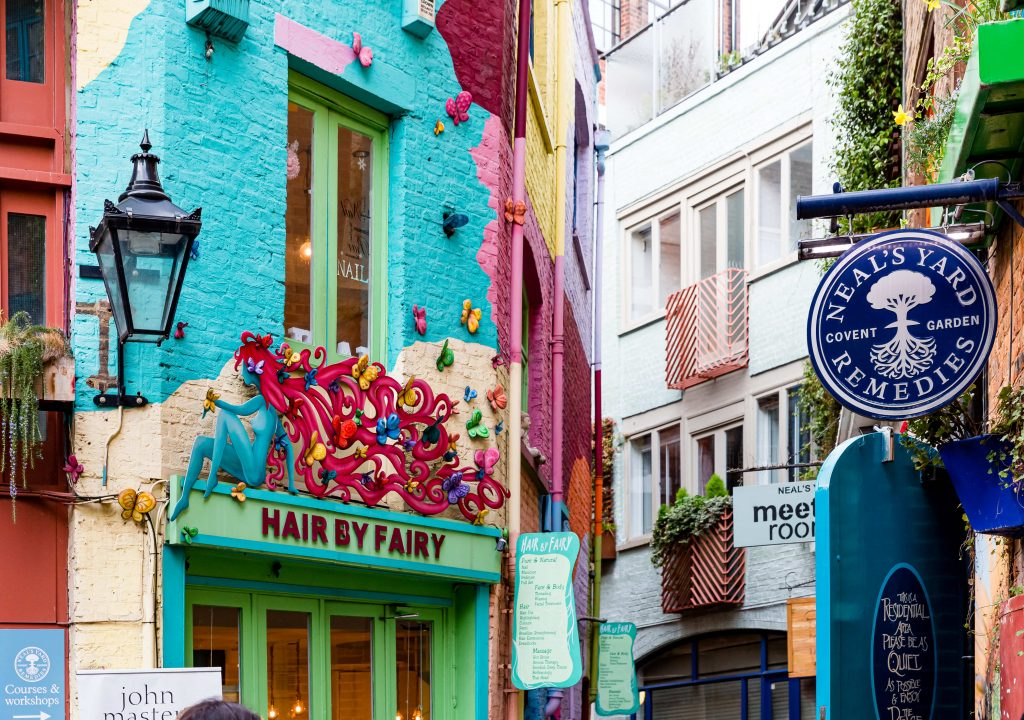 Neal's Yard for Mother's Day in London