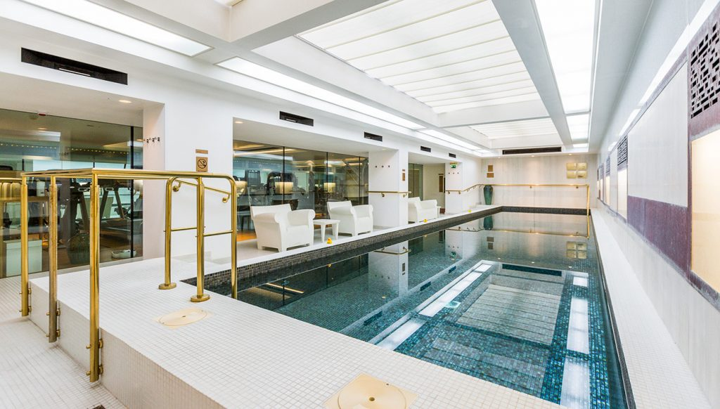 Swimming pools are a common addition to many of our luxury apartments