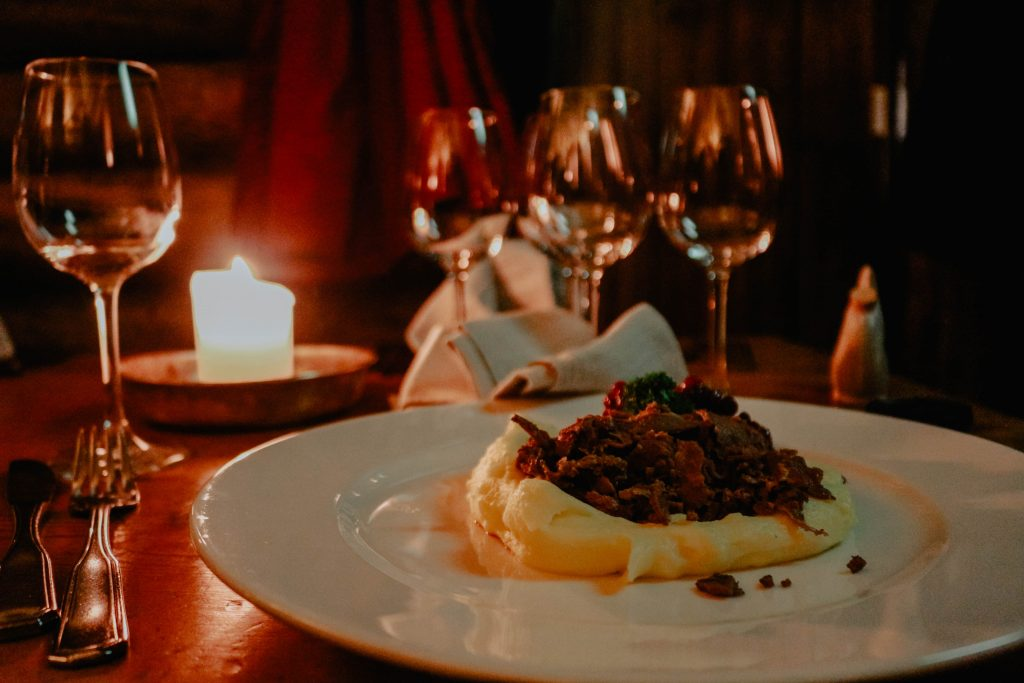 When was the last time you enjoyed a candlelit dinner?