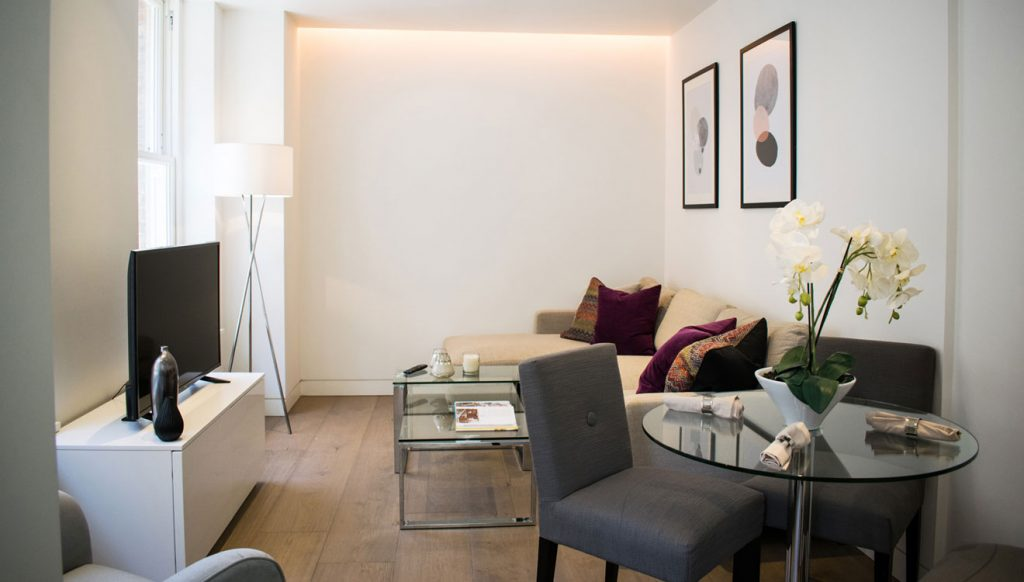 Bright and modern, these London apartments are a short walk from the best independent shops in London