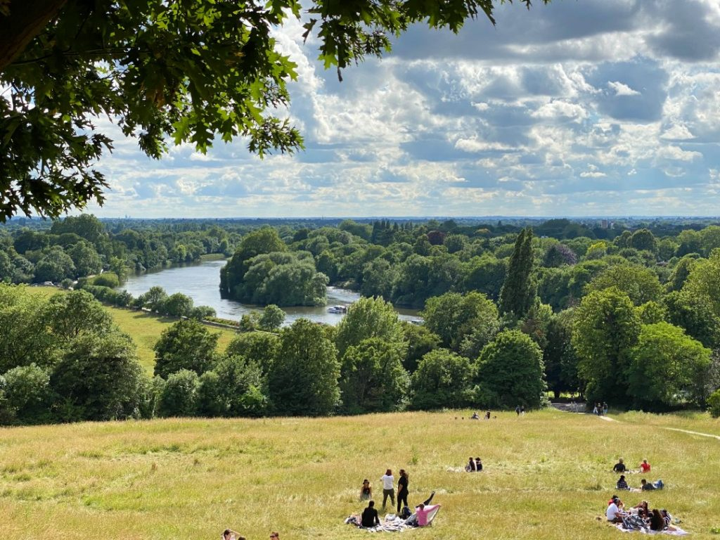 Richmond picnic summer bank holiday in london