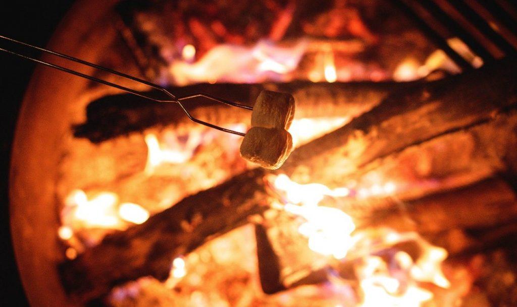 Campfire autumn in London midnight apothecary
