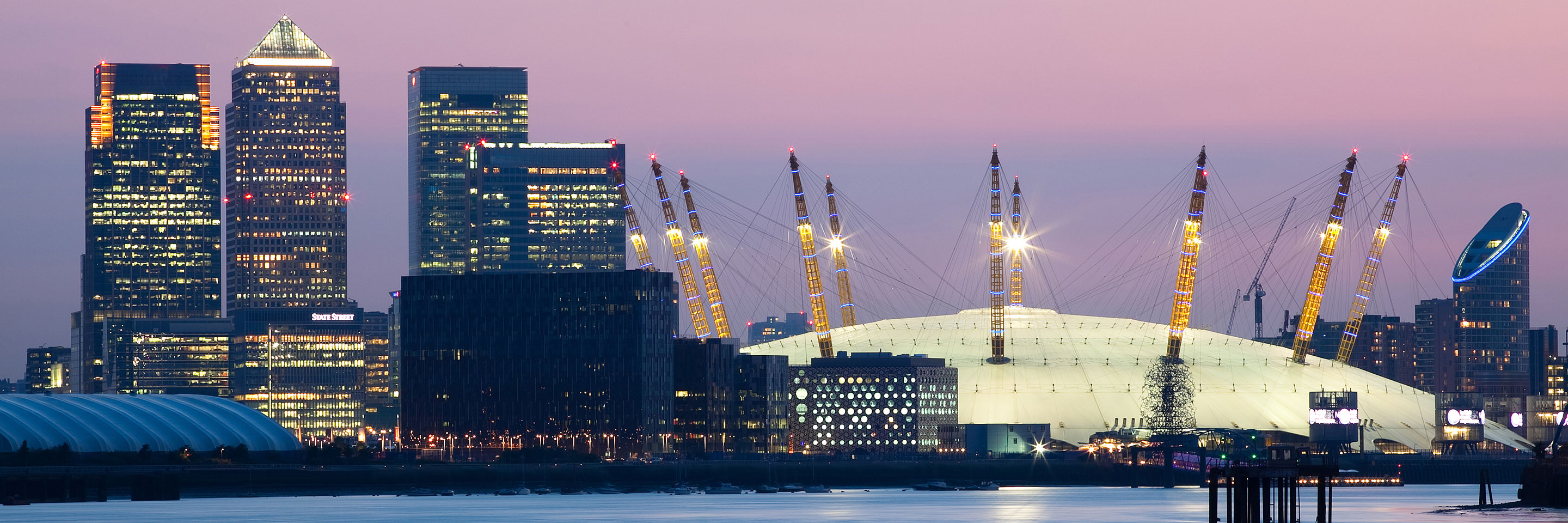 Canary Wharf, The O2 Dome