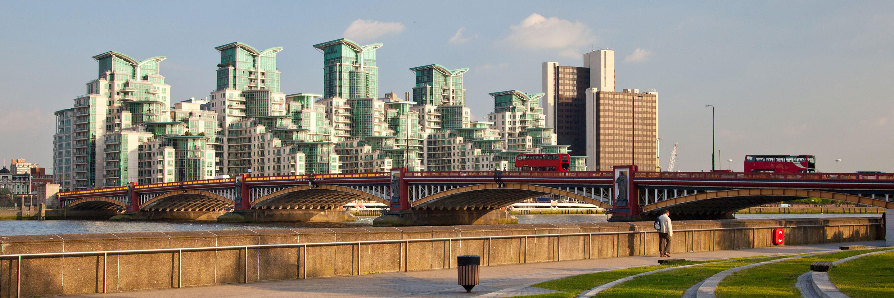 Vauxhall Bridge panorama