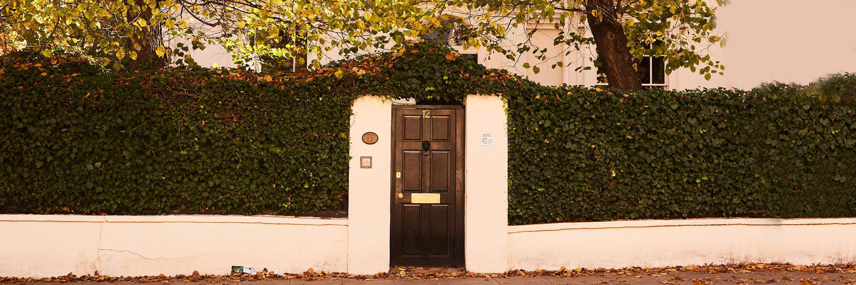 Maida Vale, house's gate