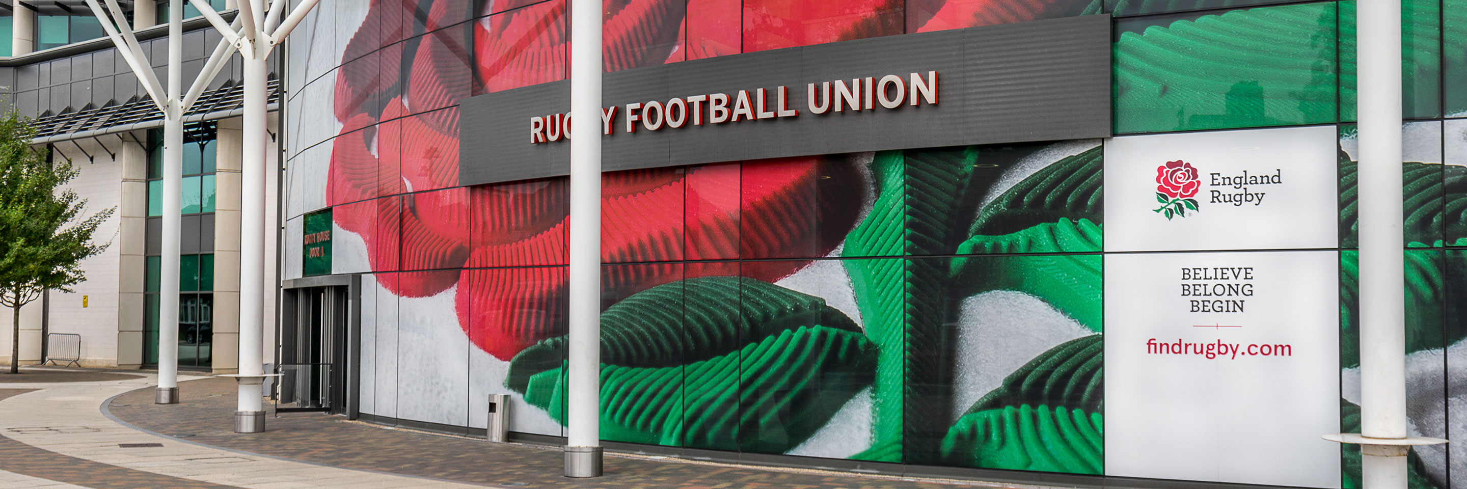 Twickenham Rugby Stadium entrance