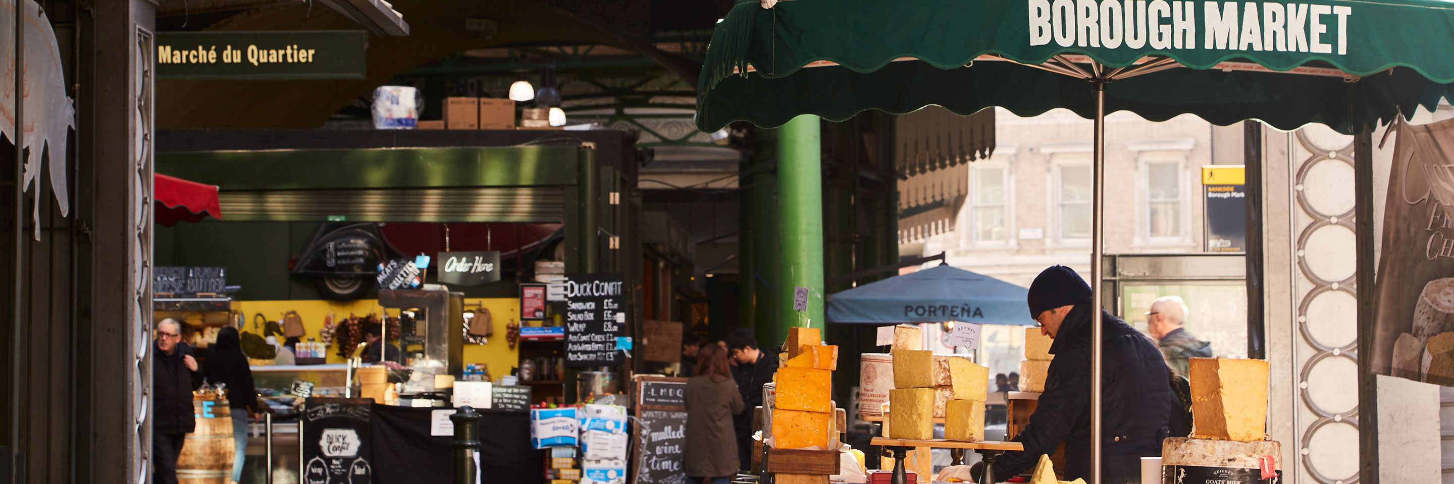 London Bridge, Borough Market